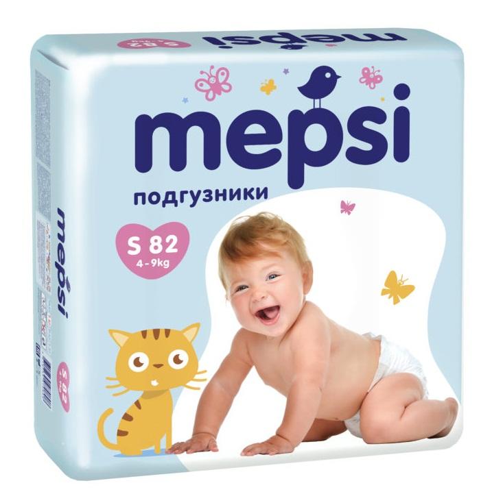 Подгузники Mepsi Премиум S (4-9 кг) 82 шт   www.wazazi.ru cf96a0d2803