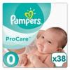 Подгузники Pampers Procare 0 (1-2.5 кг) 38шт