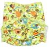 """Многоразовый подгузник GlorYes! для плавания """"Жирафы"""" (3-18 кг)"""